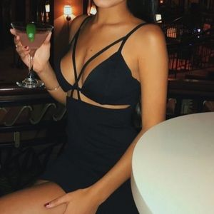 Sexy little black dress